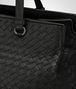BOTTEGA VENETA MEDIUM TOP HANDLE BAG IN NERO INTRECCIATO NAPPA Top Handle Bag D ep