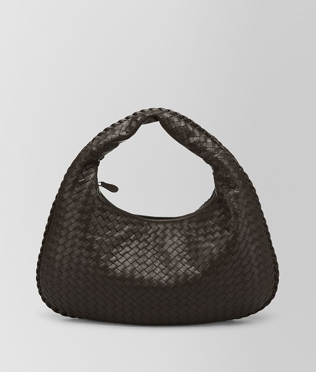 BOTTEGA VENETA MEDIUM VENETA BAG IN ESPRESSO INTRECCIATO NAPPA Hobo Bags Woman fp