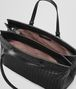 BOTTEGA VENETA LARGE TOP HANDLE BAG IN NERO INTRECCIATO NAPPA Top Handle Bag D dp