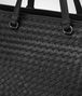 BOTTEGA VENETA LARGE TOP HANDLE BAG IN NERO INTRECCIATO NAPPA Top Handle Bag D ep
