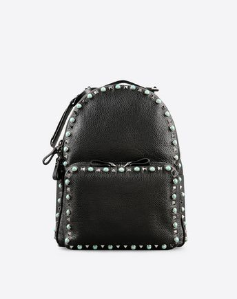 VALENTINO Rockstud Rolling medium backpack  45284484CG