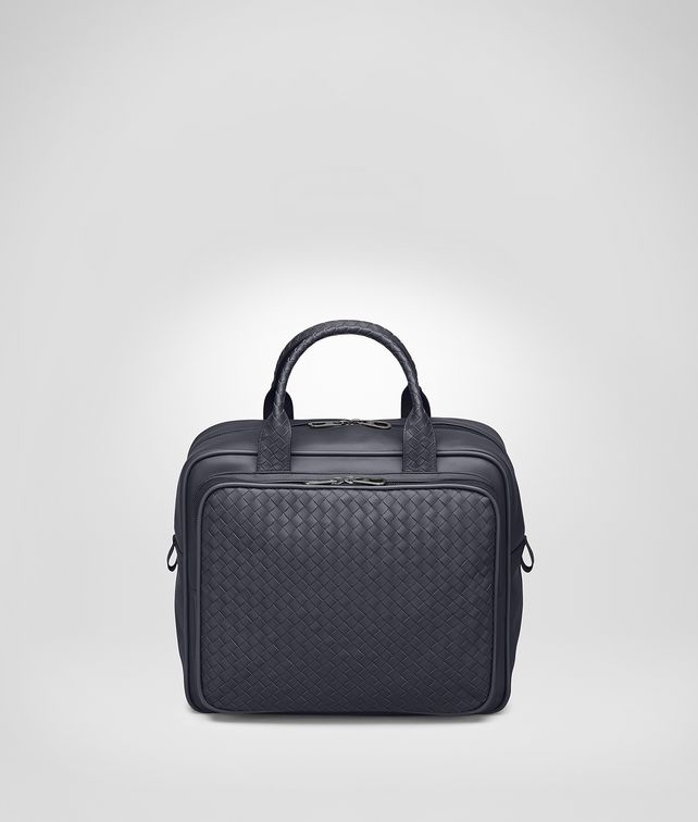 BOTTEGA VENETA BORSA DA VIAGGIO IN INTRECCIATO VN LIGHT TOURMALINE  Valigeria E fp