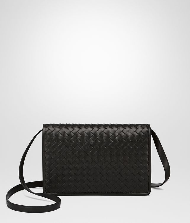 6e1767d13776 BOTTEGA VENETA CLUTCH BAG IN NERO INTRECCIATO NAPPA Clutch       pickupInStoreShipping info