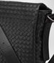 BOTTEGA VENETA MESSENGER BAG IN NERO INTRECCIATO CALF Messenger Bag U ep