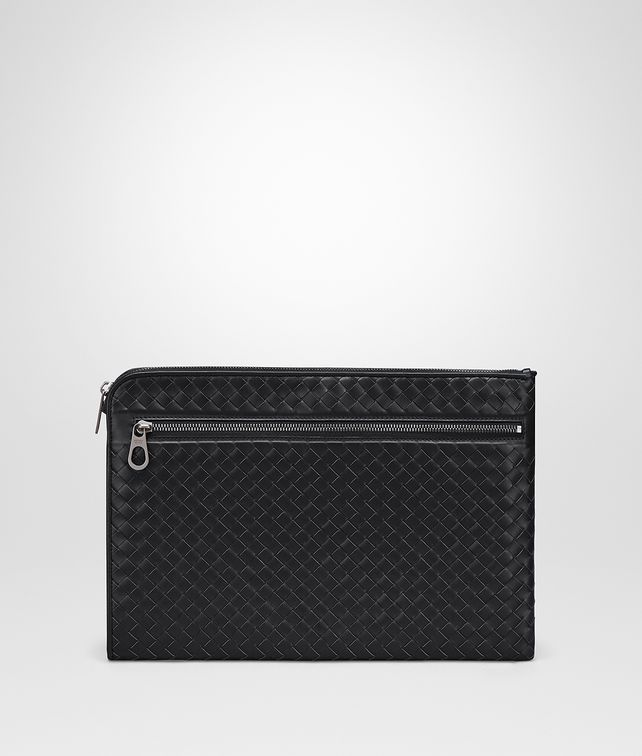 BOTTEGA VENETA NERO INTRECCIATO SMALL DOCUMENT CASE Document case Man fp