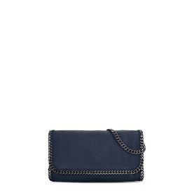 STELLA McCARTNEY Falabella Shoulder bags D Navy Falabella Shaggy Deer Shoulder Bag f