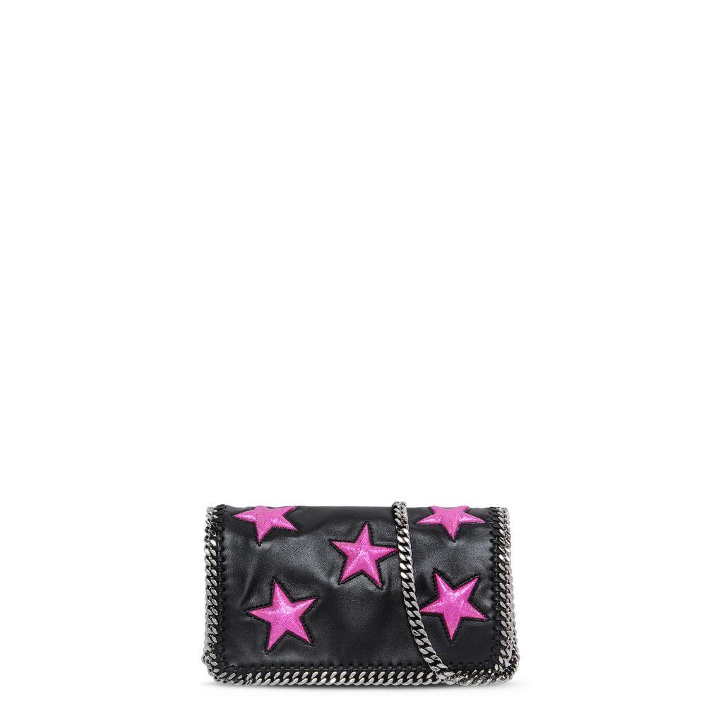 Black Falabella Alter Nappa Star Cross Body Bag - STELLA MCCARTNEY