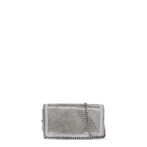 Falabella Crystal Stones Cross Body Bag