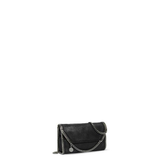 Black Falabella Shaggy Deer Mini Bag