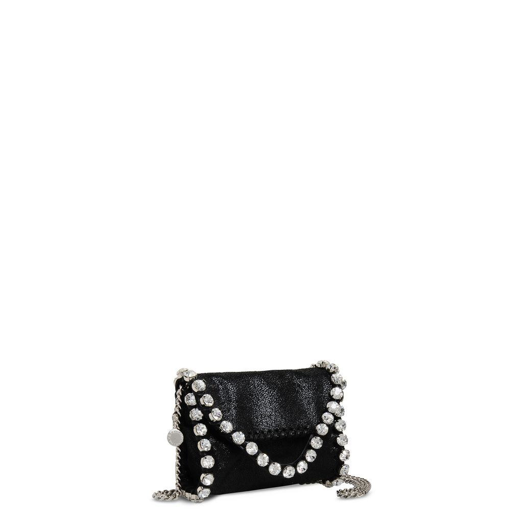 Falabella Shaggy Deer Tiny Fold Over Tote - STELLA MCCARTNEY