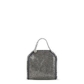 STELLA McCARTNEY Falabella Mini Bags D Falabella Crystal Stones Tiny Tote f