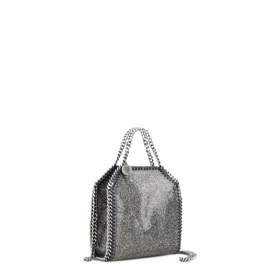 Falabella Crystal Stones Tiny Tote