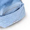 STELLA McCARTNEY Quilted Denim Cross Body Shoulder Bag D e
