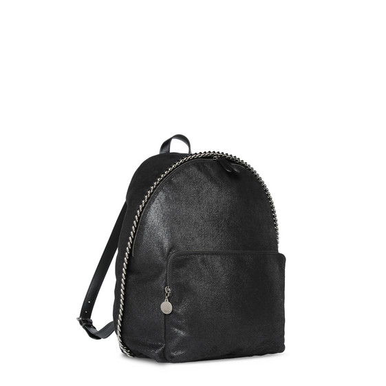 Black Falabella Shaggy Deer Mini Backpack