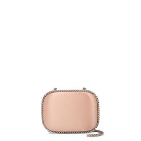 STELLA McCARTNEY Falabella Clutches D Nude Falabella Satin Clutch f