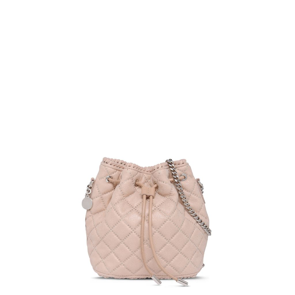 Falabella Studded Quilted Bucket bag - STELLA MCCARTNEY