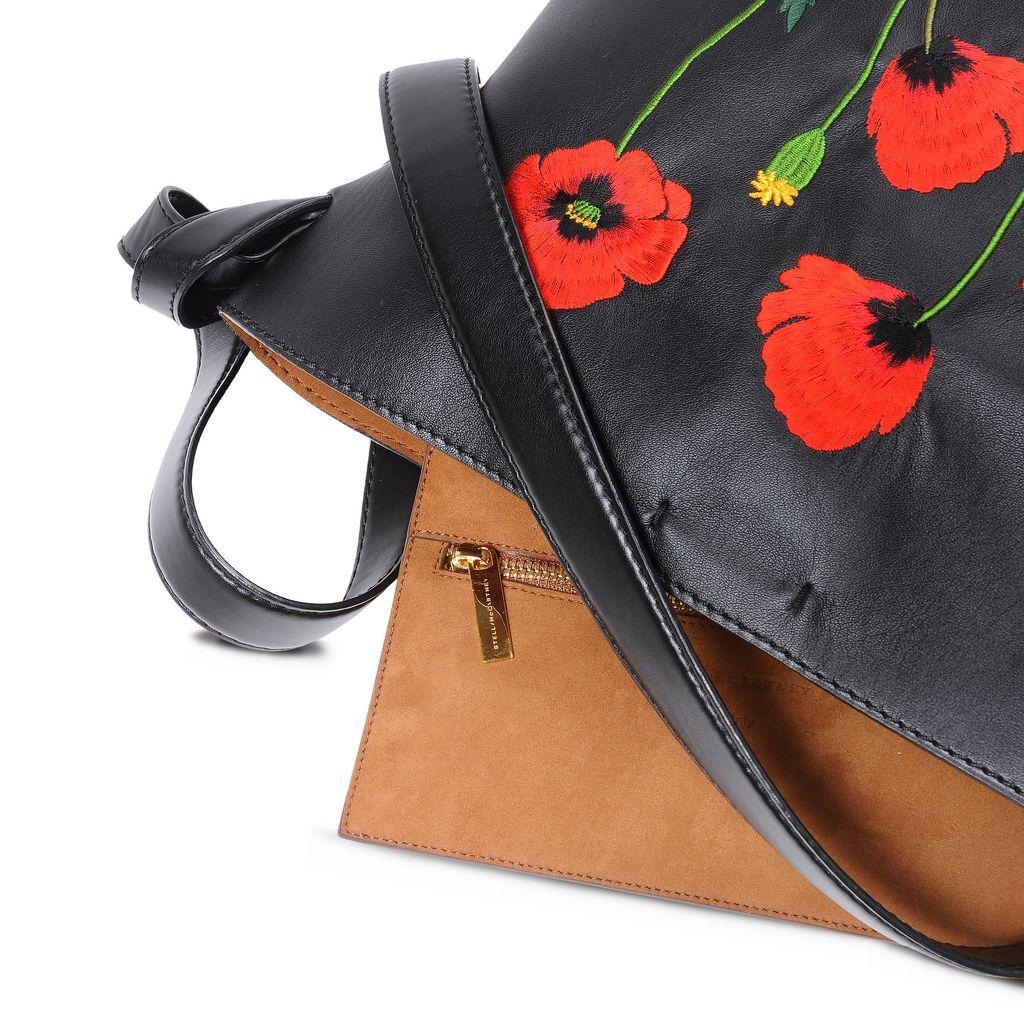 Botanical Embroidery Bucket Bag - STELLA MCCARTNEY