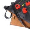 STELLA McCARTNEY Botanical Embroidery Bucket Bag Shoulder Bag D e