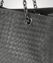 BOTTEGA VENETA LARGE TOTE BAG IN NEW LIGHT GRAY INTRECCIATO NAPPA Top Handle Bag Woman ep