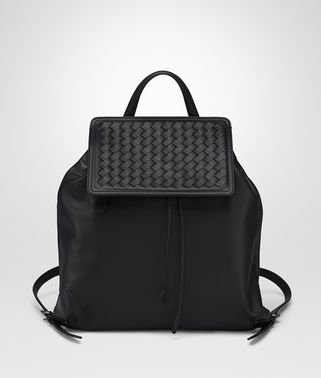 NERO NAPPA BACKPACK
