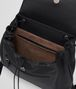 BOTTEGA VENETA BACKPACK IN NERO NAPPA, INTRECCIATO DETAIL Crossbody bag D dp