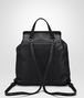 BOTTEGA VENETA BACKPACK IN NERO NAPPA, INTRECCIATO DETAIL Crossbody bag Woman lp