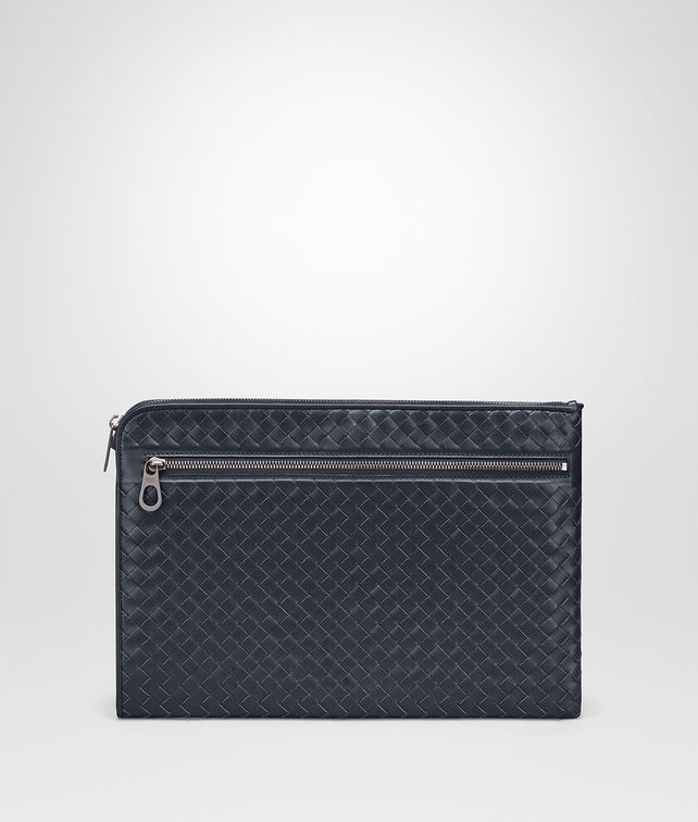 BOTTEGA VENETA DOCUMENT CASE IN LIGHT TOURMALINE INTRECCIATO VN Document case Man fp