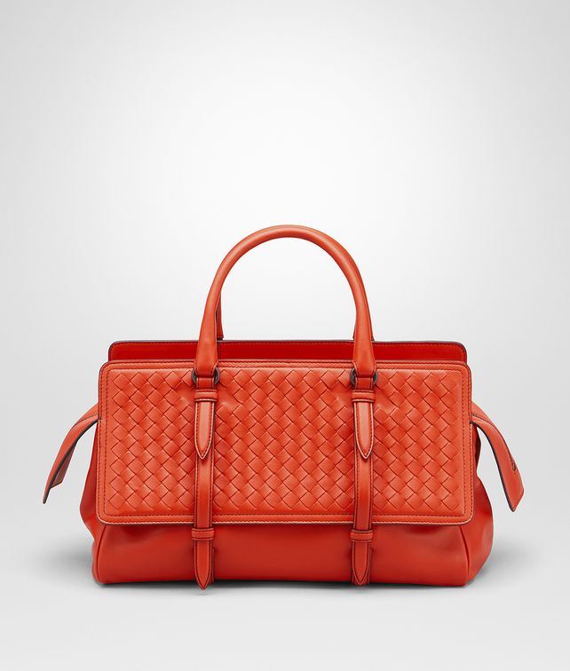 BOTTEGA VENETA BORSA MONACO MEDIA IN INTRECCIATO NAPPA VESUVIO Borsa Shopping Donna fp