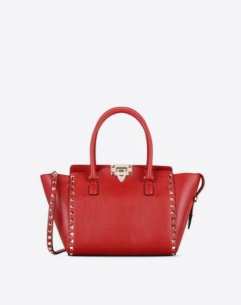 VALENTINO Rockstud small double handle bag 45285770DT