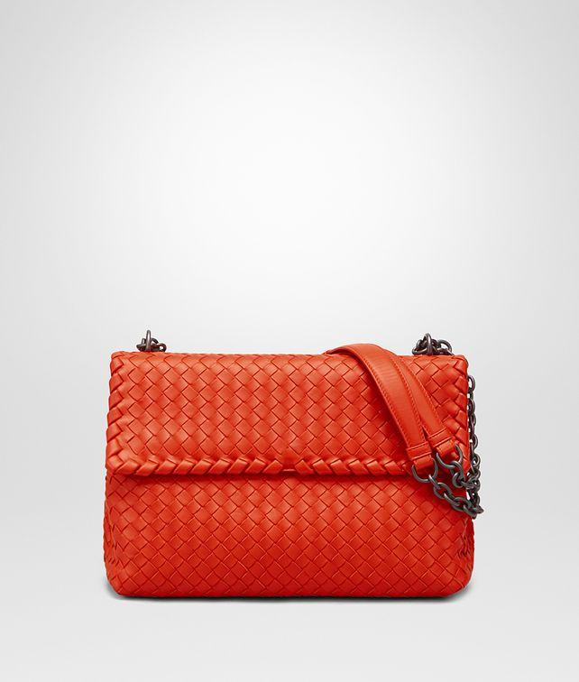 BOTTEGA VENETA MEDIUM OLIMPIA BAG IN VESUVIO INTRECCIATO NAPPA Shoulder Bag       pickupInStoreShipping info 271df6ee64734