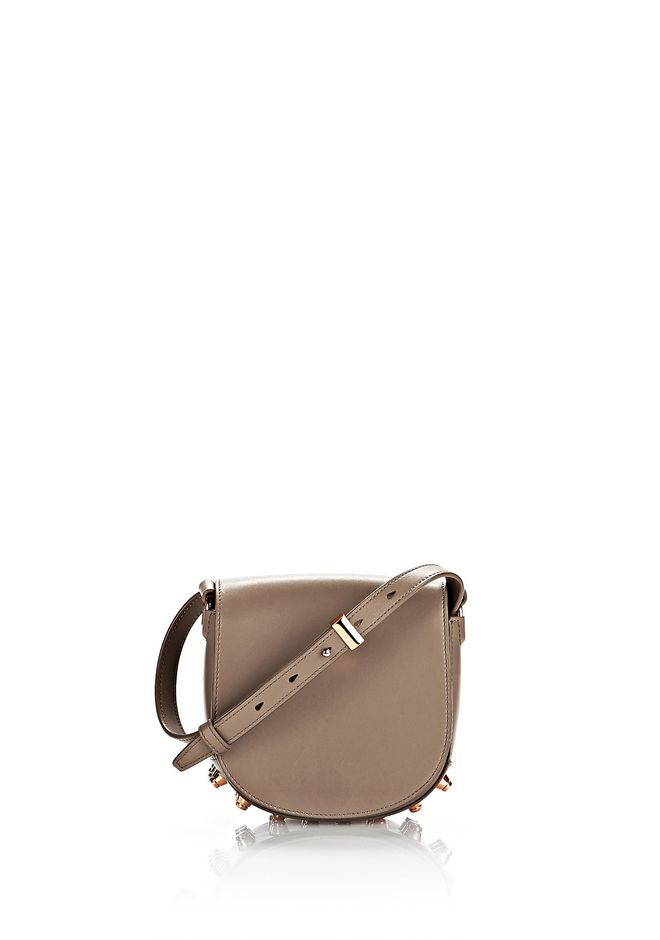 ALEXANDER WANG mini-bags MINI LIA IN LATTE WITH ROSE GOLD