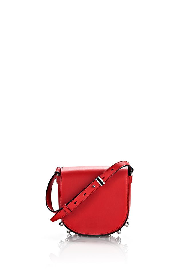 ALEXANDER WANG Shoulder bags MINI LIA IN CULT WITH RHODIUM