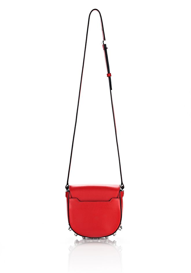 ALEXANDER WANG MINI LIA IN CULT WITH RHODIUM Shoulder bag Adult 12_n_e