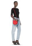 ALEXANDER WANG MINI LIA IN CULT WITH RHODIUM Shoulder bag Adult 8_n_r