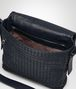BOTTEGA VENETA MESSENGER BAG IN PRUSSE INTRECCIATO CALF Messenger Bag Man dp