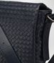 BOTTEGA VENETA MESSENGER BAG IN PRUSSE INTRECCIATO CALF Messenger Bag U ep