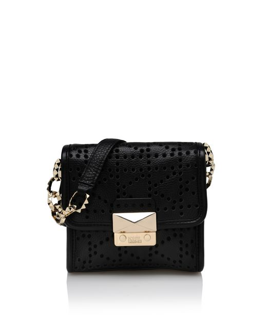 KARL LAGERFELD K/PERFORATED CROSSBODY 12_f