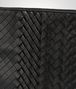 BOTTEGA VENETA DOCUMENT CASE IN NERO INTRECCIO IMPERATORE Small bag U ep