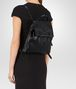 BOTTEGA VENETA BACKPACK IN NERO INTRECCIATO NAPPA Crossbody bag Woman ap