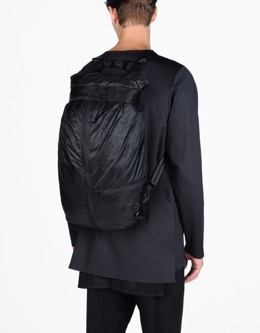 Y-3 PACKABLE BLACK BAGS man Y-3 adidas