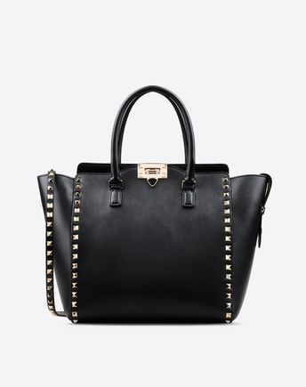 VALENTINO Rockstud double handle bag 45289750JQ