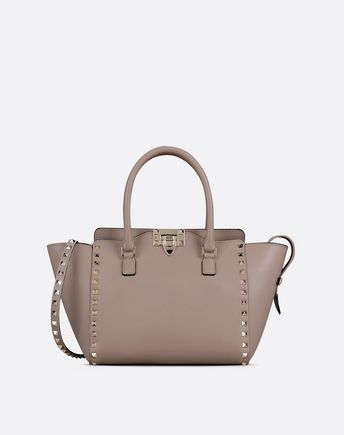 VALENTINO Rockstud small double handle bag 45289756WB