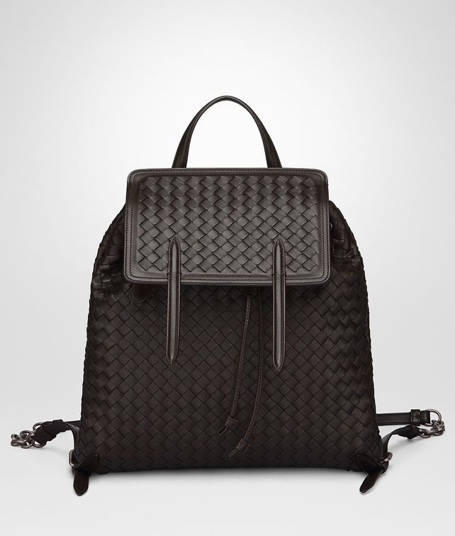 BOTTEGA VENETA BACKPACK IN ESPRESSO INTRECCIATO NAPPA Crossbody and Belt  Bags      pickupInStoreShipping info de22dbf052a3f