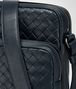 BOTTEGA VENETA MESSENGER BAG IN LIGHT TOURMALINE INTRECCIATO VN Messenger Bag Man ep