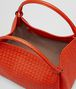 BOTTEGA VENETA PARACHUTE BAG IN VESUVIO INTRECCIATO NAPPA Shoulder or hobo bag D dp