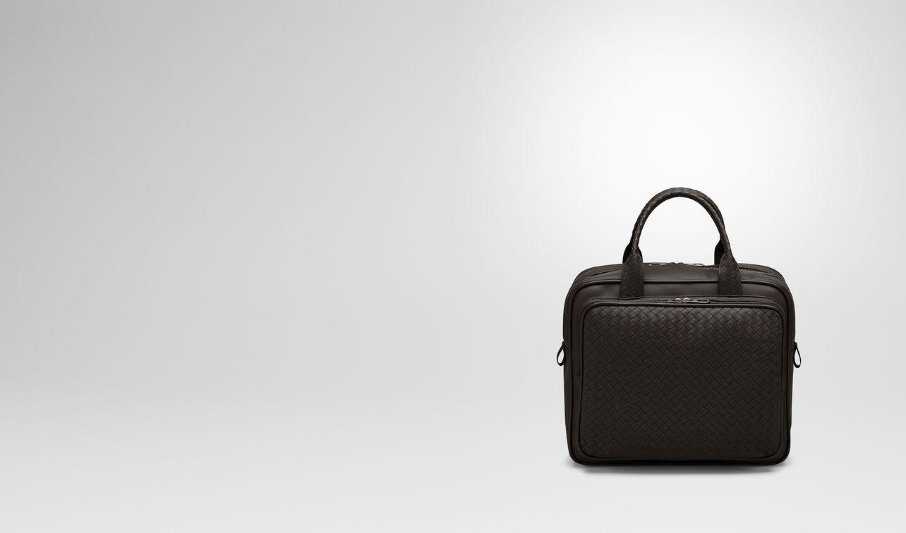 espresso intrecciato briefcase landing