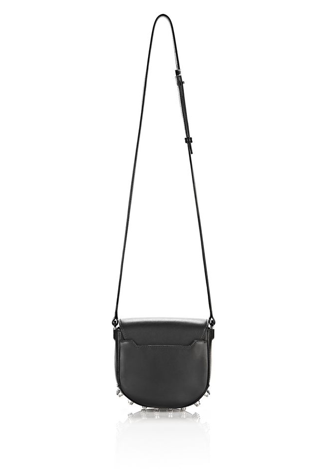 ALEXANDER WANG MINI LIA IN BLACK WITH RHODIUM Shoulder bag Adult 12_n_d