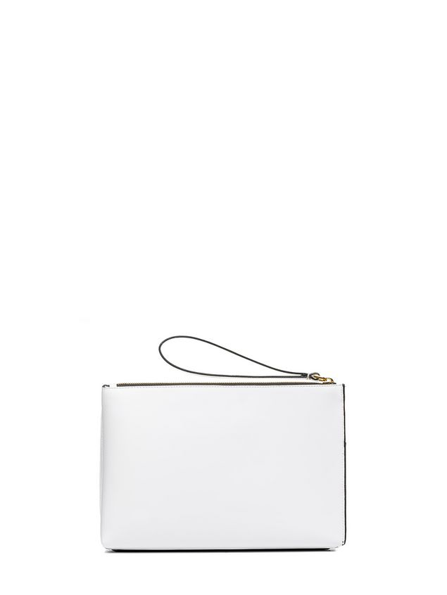 Marni MUSEO clutch in calfskin box Woman