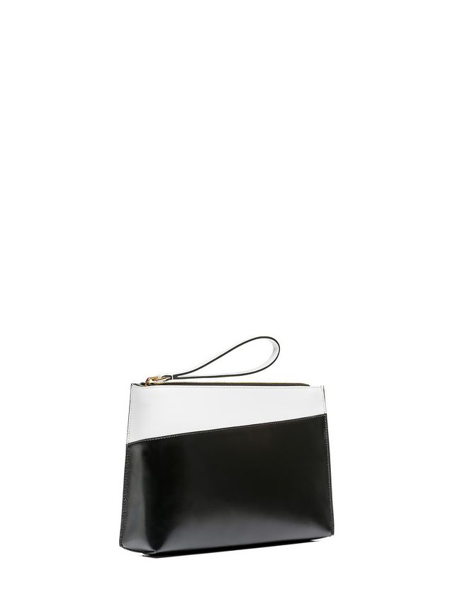 Marni MUSEO clutch in calfskin box Woman - 2