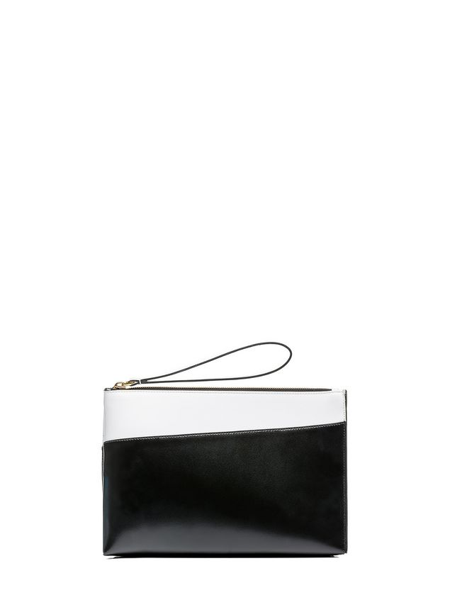 Marni MUSEO clutch in calfskin box Woman - 1